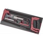 Conjunto EVA3 ferramentas de corte de 18 peças
