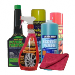 KIT LIMPEZA AUTO GASOLINA