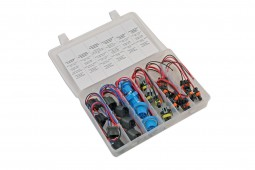 Sortido Conectores Eléctricos para Faróis Ford & GM, 24Pcs